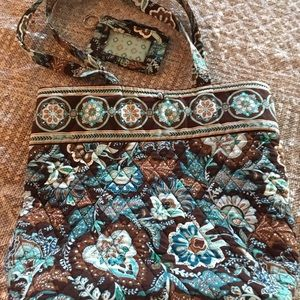 Vera Bradley purse with ID wallet